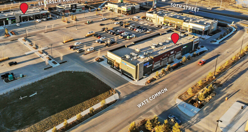 992 SF and 1,131 SF Retail Space – Harvest Pointe